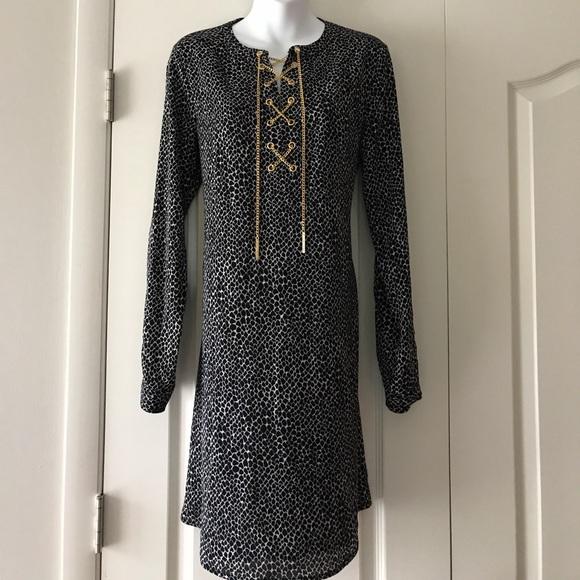 183e8651240d Michael Kors Dresses | Nwt Gorgeous Animal Print Dress | Poshmark